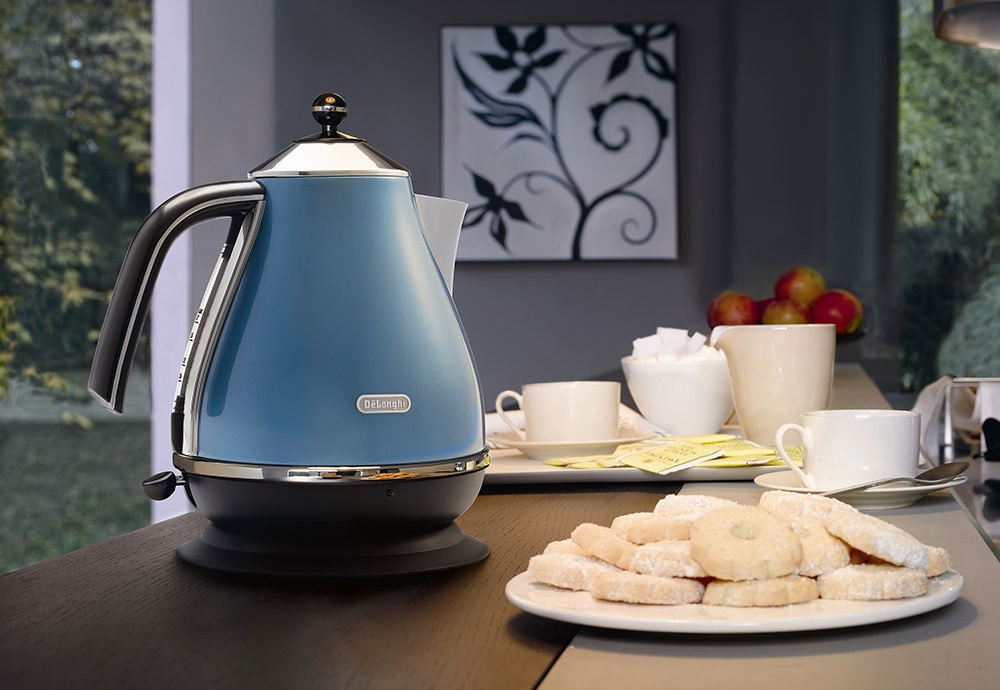 Delonghi Stainless Steel Kettle