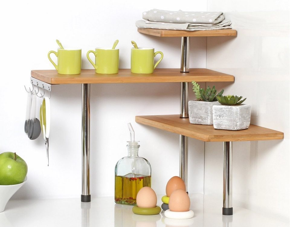 kitchen worktop storage solutions 18 clever storage ideas for small kitchens organisation 6577