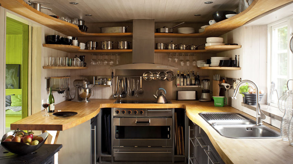 18 Clever Storage Ideas For Small Kitchens