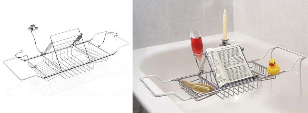 Artis Bath Tub Caddy with Wine