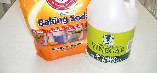 Baking Soda and White Vinegar