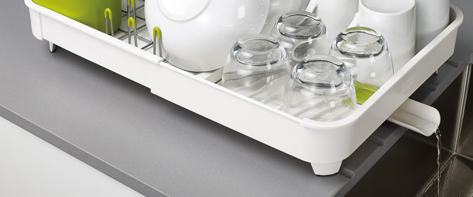 Dish Drainer Water Spout For Good Kitchen Hygiene