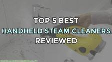 Top 5 Best Handheld Steam Cleaners Reviewed