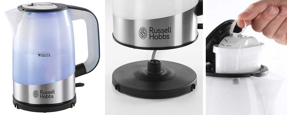 Russell Hobbs 18554 Brita Water Filter Kettle Review