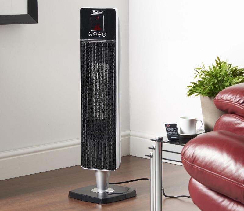 VonHaus Ceramic Fan Tower Heater