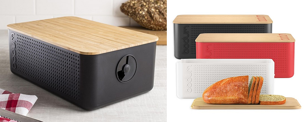 Bodum Bistro Bread Box with Bamboo Cutting Board Review