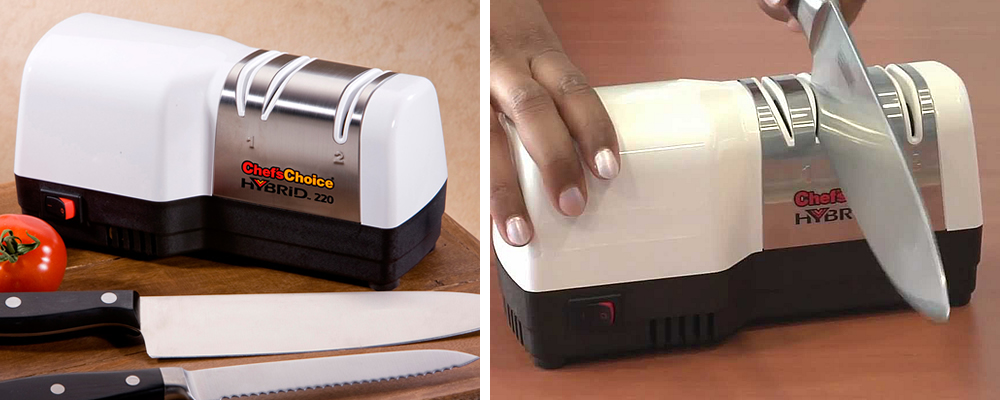 Chef's Choice 220 Diamond Hone Hybrid Electric Knife Sharpener Review