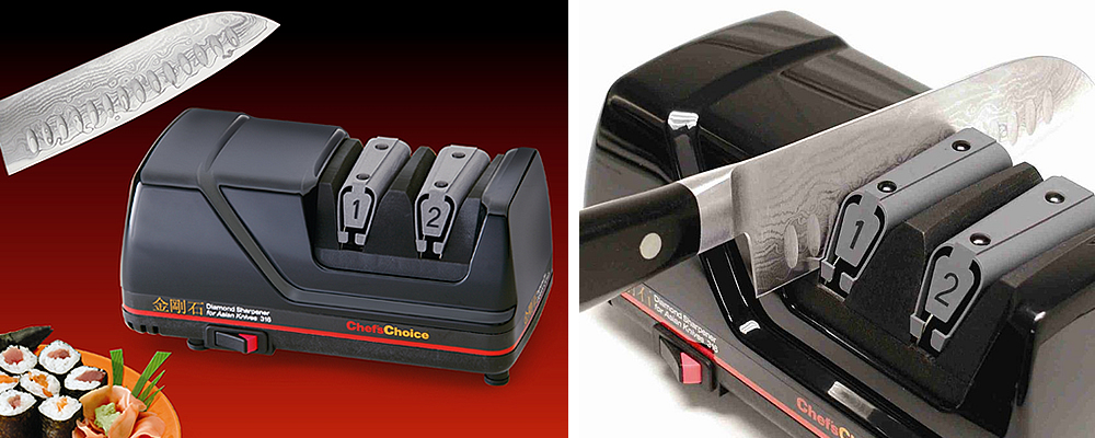 Chef's Choice 316 Asian Electric Knife Sharpener Review