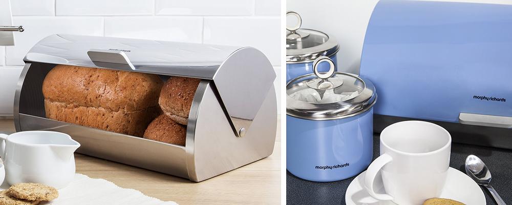 Morphy Richards Accents Roll Top Bread Bin Review