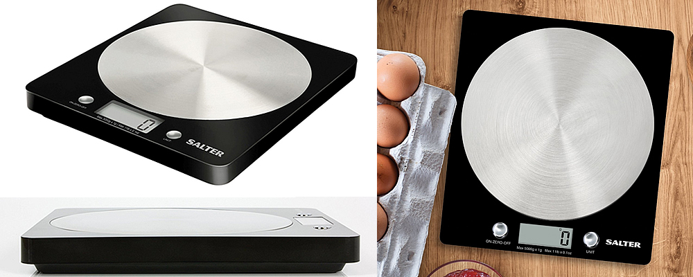 Salter Disc Digital Kitchen Scales Review