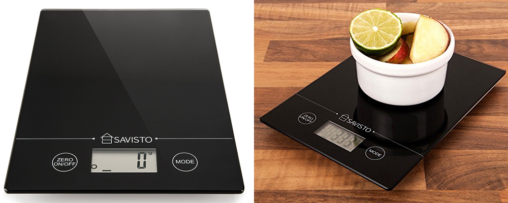 Savisto Black Digital Kitchen Scales Review