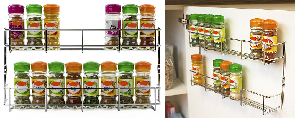 Andrew James Wall Mountable 2 Tier Spice & Herb Rack Review