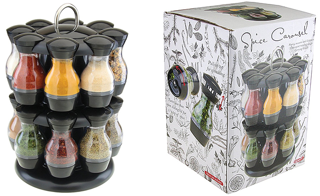 Apollo 16 Jar Roundabout Revolving Spice Rack Review