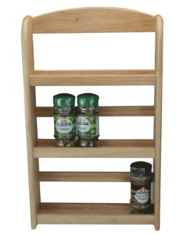 Apollo 3-Tier Wooden Spice Rack Review