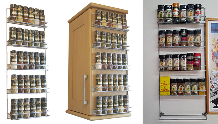 Avonstar British Made Wall Mountable Spice Rack Review