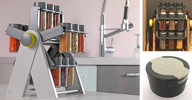 Ferris Spice Market Revolving Spice Rack Review