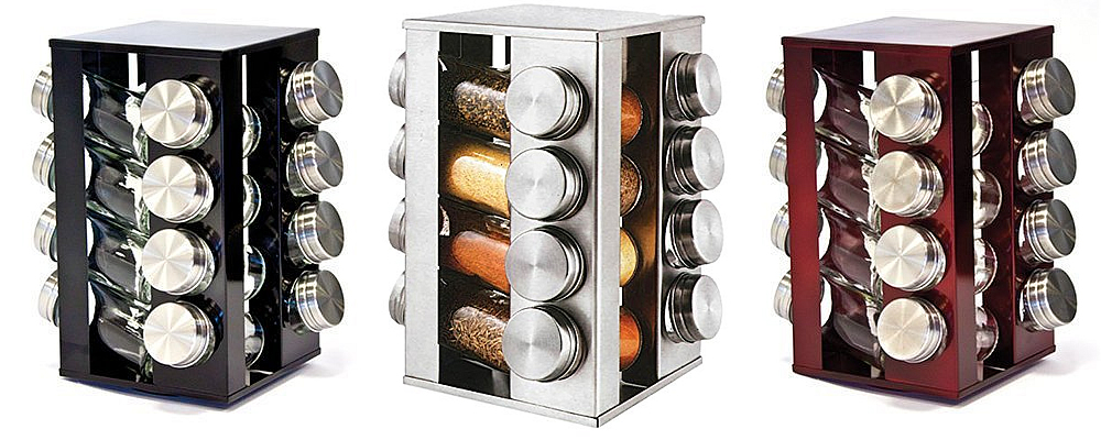 SQ Professional Gems Revolving Metallic Spice Rack Review