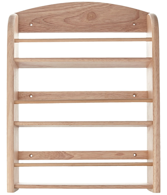 T&G Woodware Scimitar Wooden Spice Rack Review
