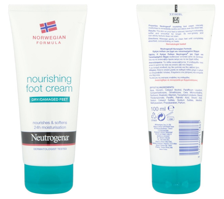 Neutrogena Norwegian Formula Nourishing Foot Cream Review
