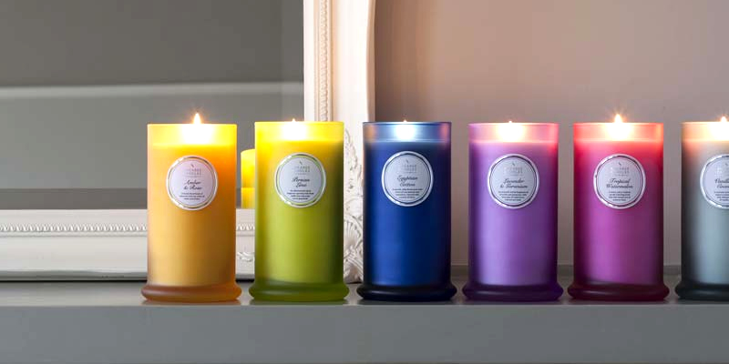 Shearer Candles Tall Pillar Jar Scented Candles Review