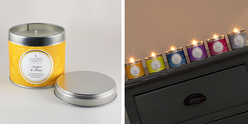 Shearer Candles Tin Scented Candles Review