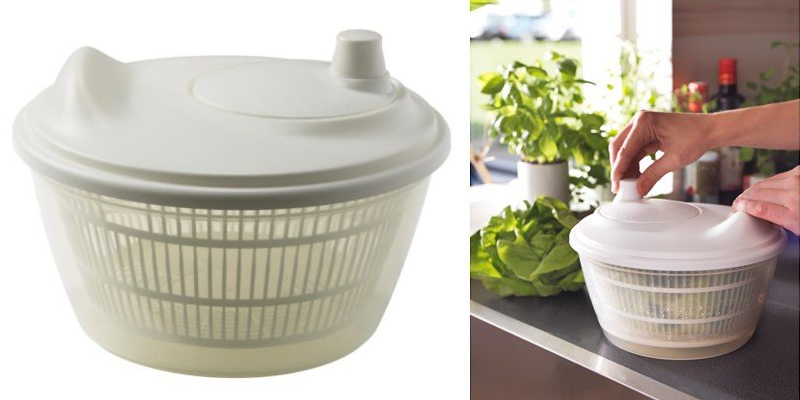 Ikea TOKIG Salad Spinner Review