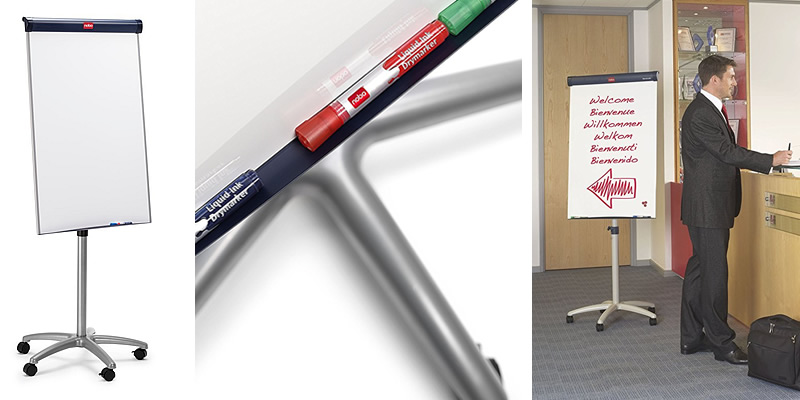 Nobo Barracuda Mobile Flipchart Easel with Magnetic Whiteboard Review