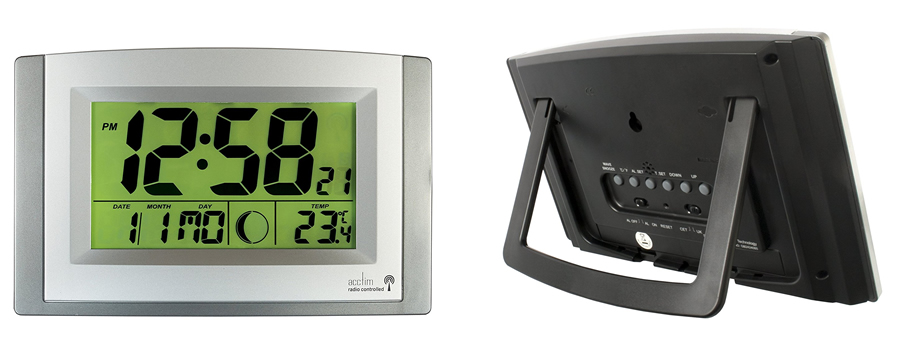 Acctim Stratus Digital Wall Clock