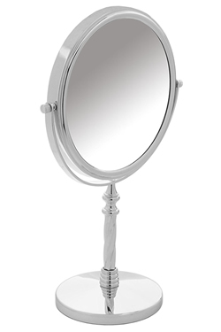 Danielle Twisted Stem Pedestal Mirror