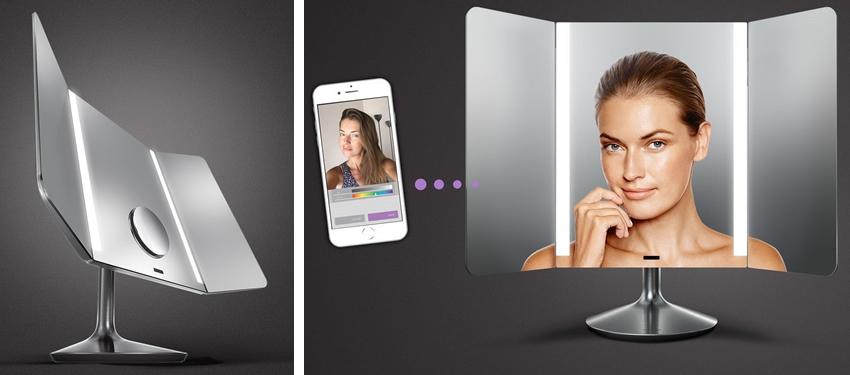 Simplehuman Pro Wide View Sensor Mirror | ST3014