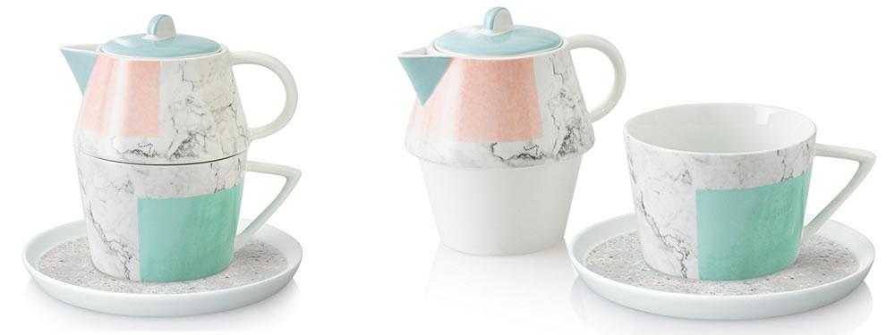 Carrara Tea for One Set