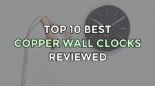 Top 10 Best Copper Wall Clocks