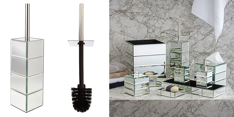 John Lewis Gatsby Toilet Brush Set