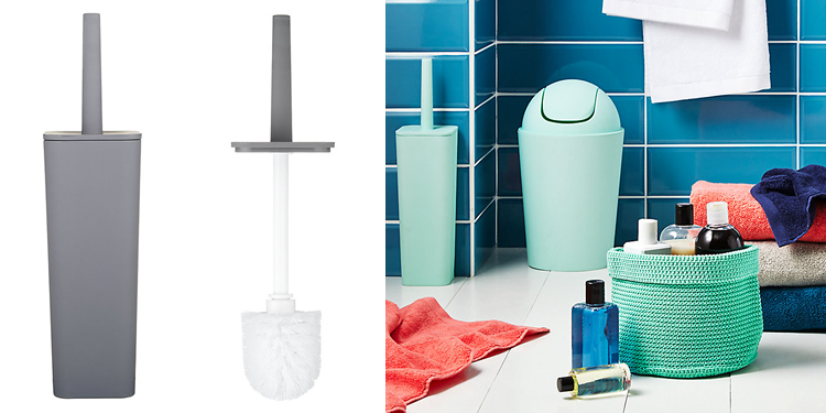 House by John Lewis Toilet Brush and Holder Set