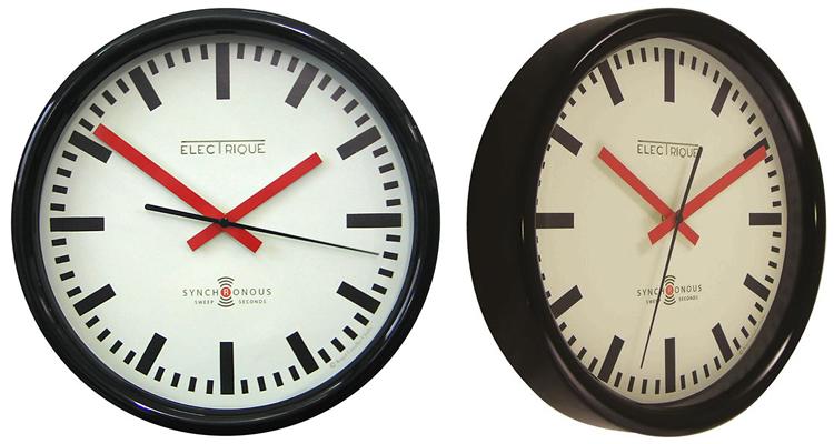 Lascelles Swiss Station Retro Wall Clock