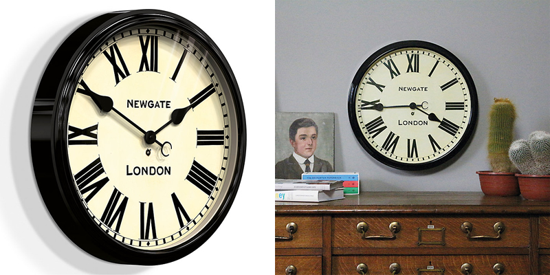 Newgate Battersby Retro Wall Clock