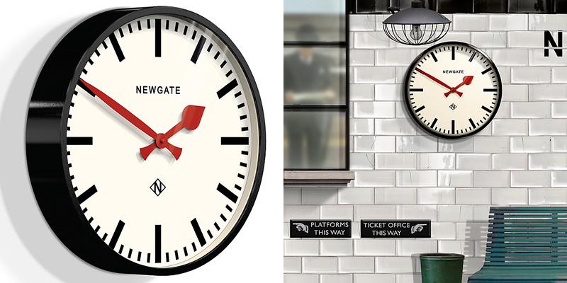 Newgate Putney Retro Wall Clock