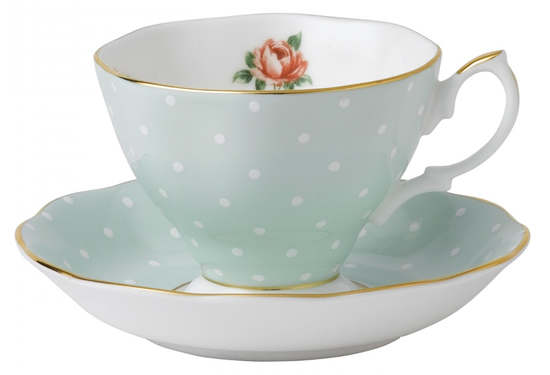 Polka Rose by Royal Albert