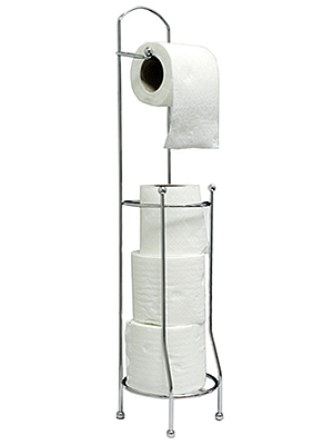 Betterware Free-Standing Toilet Roll Holder