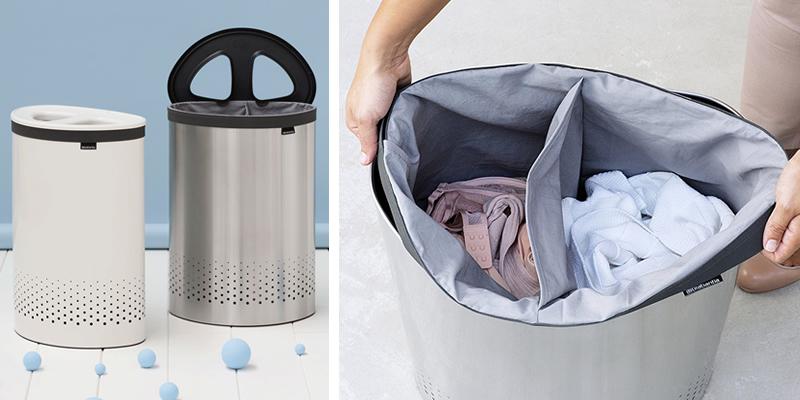 Brabantia Selector Double Laundry Bin