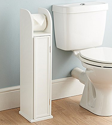 Dylex Wooden Toilet Roll Holder