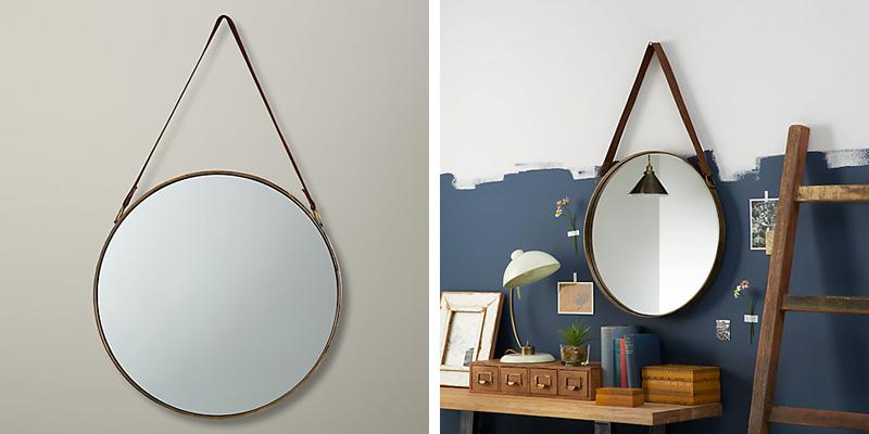 John Lewis Round Hanging Mirror