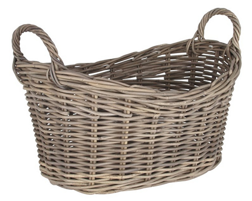 Kubu Wicker Laundry Basket by Pacific Lifestyle