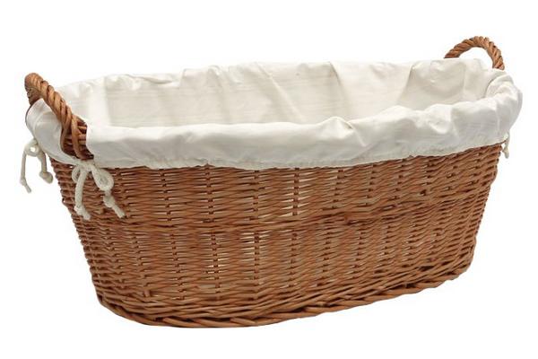Prestige Wicker Linen Laundry Basket