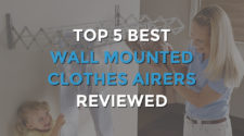 Top 5 Best Wall Mounted Clothes Airers