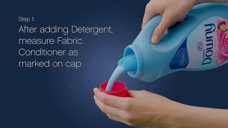 using fabric conditioner