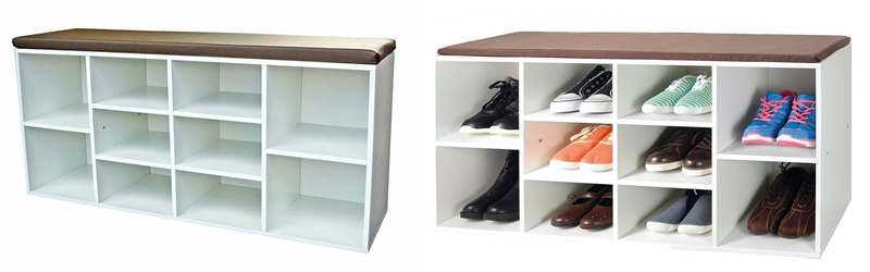 10 Pair Shoe Cabinet by Caracella