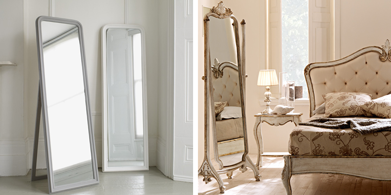 Free Standing Full Length Mirrors