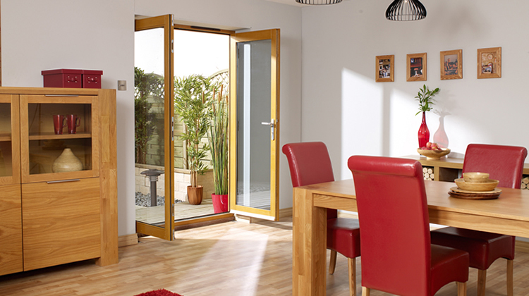 Build French or Patio Doors Leading to the Garden