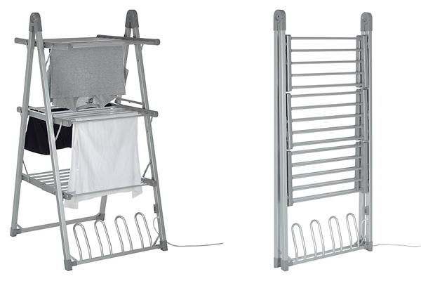 John Lewis 3-Tier Heated Indoor Clothes Airer